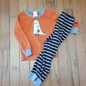 Janie and Jack 2t halloween ghost pajamas boys